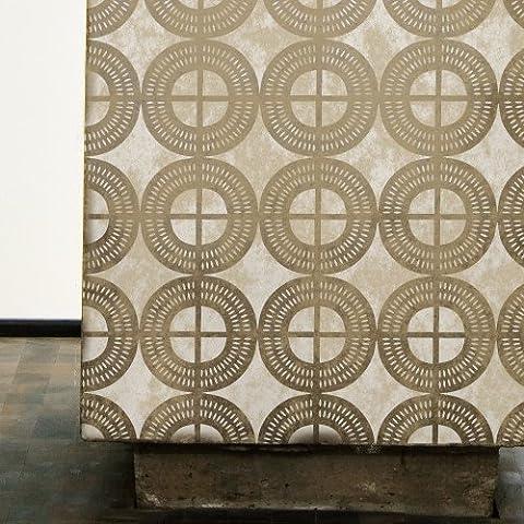 Desert Sands–Plantilla de azulejos africana marroquí para muebles Pared Craft plantilla, Medium A3