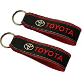 Toyota Leder Schlüsselanhänger Ersatz Für Toyota Schlüsselanhänger Auto