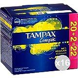 Tampax Tampones Compak Regular - 22 unidades