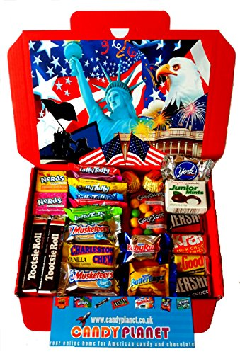 American Hershey's Retro Chocolate Sweets. Rare miniature American chocolates