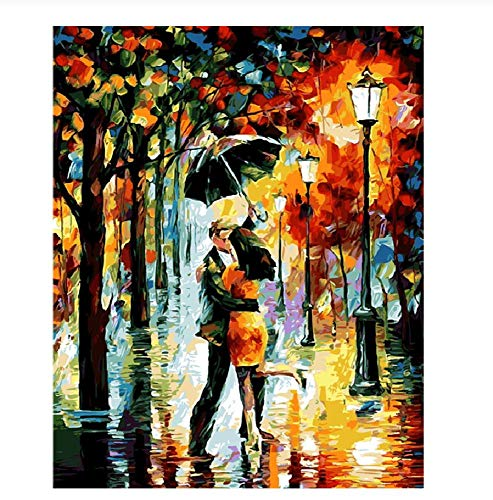 WOZUIBAN Puzzle 1000 Pezzi Puzzle in Legno DIY Amante Bacio Romantico Modern Home Decor Wall Art Intelligence Gioco