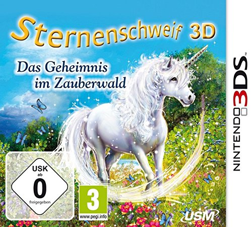 Sternenschweif 3D - Das Geheimnis im Zauberwald - [Nintendo 3DS]