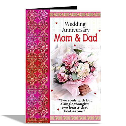 Wedding Anniversary Mom Dad Greeting Card Epic Deal