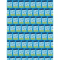 NEW 3 SHEETS OMFG YOURE HOW OLD GIFT WRAP WRAPPING PAPER BIRTHDAY HUMOUR NOVELTY