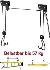 P4B Fahrrad-Bike-Lift XL STRONG--bis 57 kg--für E-Bike--mechanisch schwarz