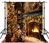 Ouyida 8x8ft Christmas theme Pictorial cloth Customized photography Backdrop Background studio prop TD61