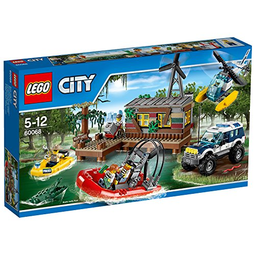 LEGO-City-Police-60069-Swamp-Police-Station