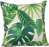 Pillow Case,Kingko® Maple Leaf Print Sofa Cushion Cover Home Bed Festival Decoration,18*18 inch (B)