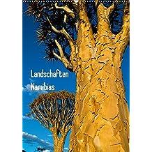 Landschaften Namibias (Wandkalender 2018 DIN A2 hoch): Wunderbare Natur in bunten Farben (Monatskalender, 14 Seiten) (CALVENDO Orte) [Kalender] [Apr 01, 2017] Scholz, Frauke
