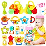 Kaichen 20PCS/Lot Mignon Hochet Bébé en Plastique Jeu éducatif pour Bébé