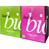Baginbox vino MIX Rosato13 5  Bianco12 5  Biologico I G T  Toscana LT 5 5 BARBABIO