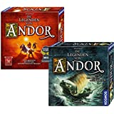 Kosmos 971366 - Bundle - Die Legenden von Andor und die Reise in den Norden, Brettspiel