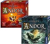 Kosmos 971366 - Bundle - Die Legenden von Andor und die Reise in den Norden, Strategiespiel