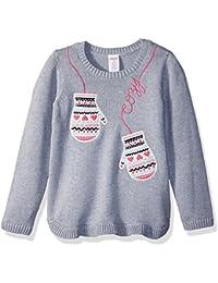 Gymboree Toddler Girls' Long Sleeve Mitten Sweater