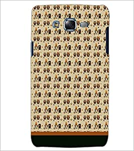 PrintDhaba Owl Pattern D-1703 Back Case Cover for SAMSUNG GALAXY ON 5 (Multi-Coloured)