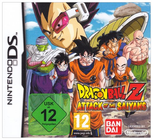 Dragonball Z: Attack of the Saiyans (Dragon Ball Z-spiele Für Den Ds)