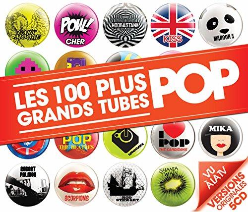 les-100-plus-grands-tubes-pop-5-cd