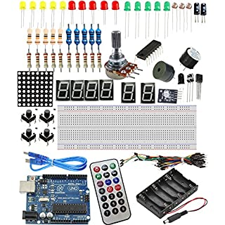 Sintron] NEW! Starter Kit with UNO R3 board Components Sensors LED etc.for Arduino AVR Learner.