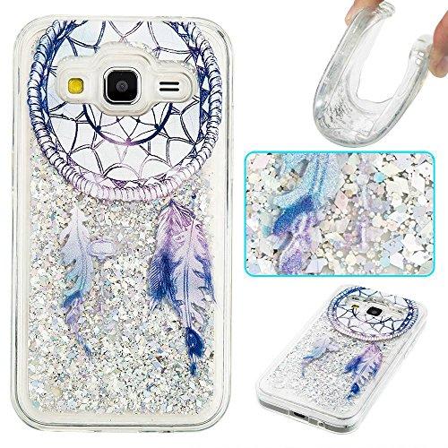 pinlu Funda para Samsung Galaxy Core Prime (G3608) Flash Brillante Lentejuelas...