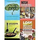 Piano di Vita Intero del cereale, Senza glutine, per Imparare a Cucinare frumento, Senza glutine e latticini e Perdere Peso per Una buona Dieta Bassa, 4 Libri da Collezione
