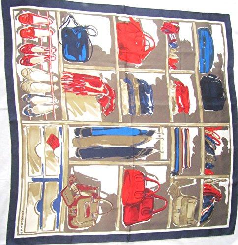 blaues-longchamp-seidentuch-89-x-89cm-schrank-schal-foulard-seide-carr-scarve