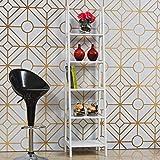 Home Centre Frost High Gloss Book Shelf
