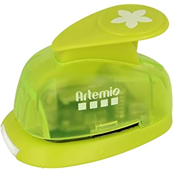 Artemio 1.6 cm Small Circle Lever Punch Green