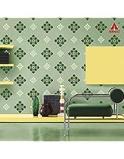 Arhat Stencils Glossy PVC Damask Wall Stencils ASR-E90