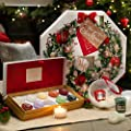 Yankee Candle Advent Calendar 2017 Wreath Scented Tea Light Candles Set