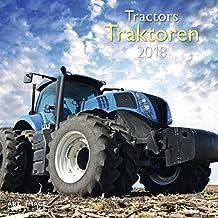 Traktoren 2018 - Autokalender, Nutzfahrzeuge, Posterkalender - 30 x 30 cm