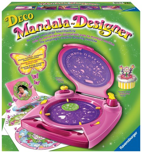 Deco Mandala-Designer Drawing Machine (Designer Briefpapier)