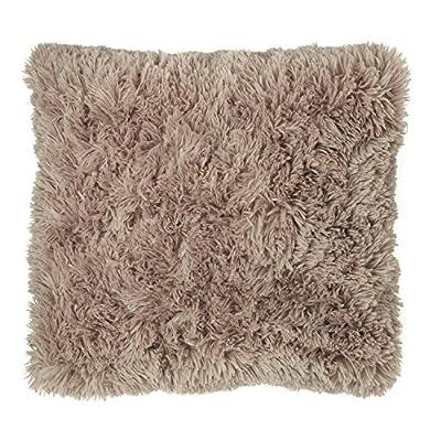 Cuddly Fur Cushion Cover, Super Soft Shaggy Cushions, 45 x 45 cm