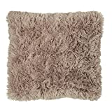 Catherine Lansfield Cuddly Cushion Cover Natural