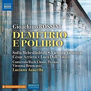 Demetrio e Polibio, Act I: Andiamo taciti (Chorus)