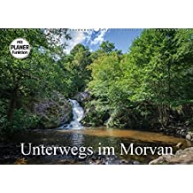 Unterwegs im Morvan (Wandkalender 2017 DIN A2 quer): Friedliche Landschaften von Morvan (Geburtstagskalender, 14 Seiten )