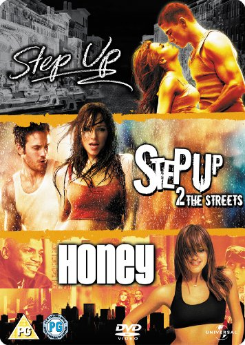 Step Up / Step Up 2: The Streets / Honey [3 DVDs] [UK Import]