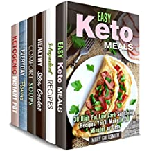 Quick and Simple Box Set (6 in 1): Over 190 Keto, Slow Cooker, 5-Ingredient, Soup, Flavor Recipes Made Easy and Delicious (Stress-Free Cooking) (English Edition)