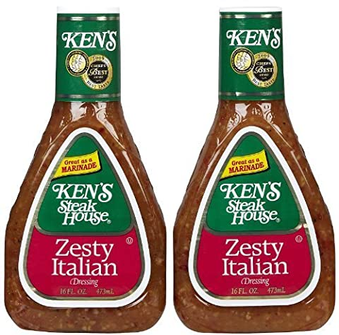 Ken's Steak House Zesty Italian Dressing (2 Pack) by