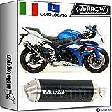 Arrow Auspuff Hom Racetech Aluminium Dark Suzuki GSX-R 100020141420151571791Aon