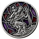 Magnet St. Christophorus-Medaille Schutz der Fahrgäste