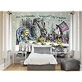 suchergebnis auf f r alice im wunderland wandtattoos wandbilder malerbedarf. Black Bedroom Furniture Sets. Home Design Ideas