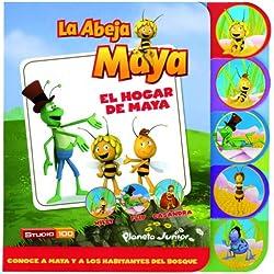 La Abeja Maya. El hogar de Maya: Libro de cartón con pestañas (La Abeja Maya 3D)