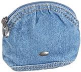 edc by ESPRIT Umba U48062, Damen Portemonnaies, Blau (Denim Blue Soft 469), 11X12 cm (B x H x T)