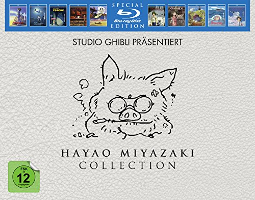 Hayao Miyazaki Collection Bd (Special Edition) [Blu-ray] [Import allemand]