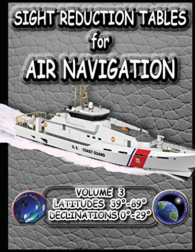 Sight Reduction Tables for Air Navigation Vol 3 Volle Navigation