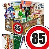 85. Geburtstag Geschenk - SPEZIALITÄTEN Box mit DDR Waren + Geschenkverpackung
