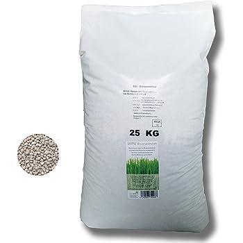 SEPU 25 kg Rasendünger Kurzzeitwirkung Langzeitwirkung mineralisch Volldünger Grasdünger NPK+ Sportrasen Spielrasen Zierrasen Dünger Nährstoffdünger (25)