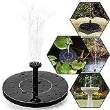 Solar water pump, tronisky solar fountain Floating Pump Outdoor Watering Submersible Pump for Birdbaths,Fish Tank,Small Pond, Garden Decoration
