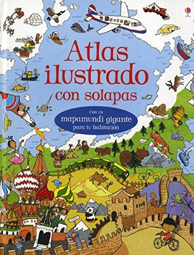 Atlas Ilustrado Con Solapas por Vv.Aa.