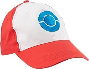 Pokemon ASH KETCHUM Trainer Costume Cosplay Summber Sun Adjustable Baseball Cap for Kids